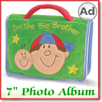 I'm the Big Brother 7 inch Photo Album