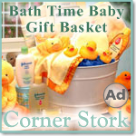 Baby Shower Bath Time Gift Basket