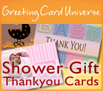 Baby Shower Gift Thankyou Cards