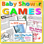 Baby Shower Games by Python Printable Games