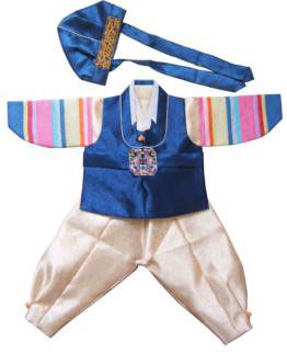 Korean hanbok baby clothes